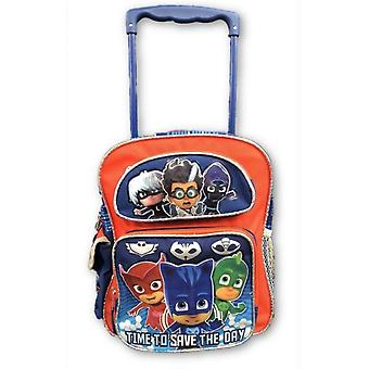 Small Rolling Backpack - PJ Masks - Time To Save The Day 12