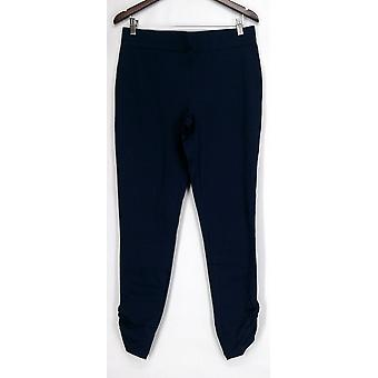 Slimming Options for Kate & Mallory Leggings Ruched Side Blue A426083