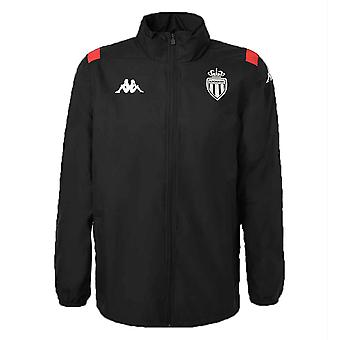 2019-2020 Monaco training regenjas (zwart)