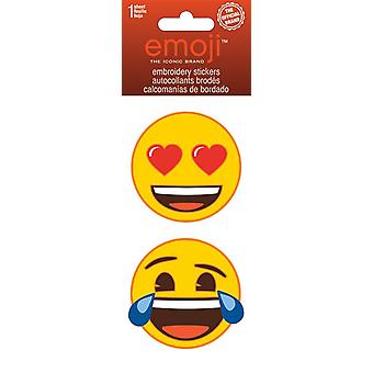 Embroidered Stickers - Emoji - Stationery New st3022