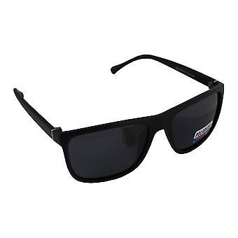Solbriller Aviator polariserende glas sort fri BrillenkokerS316_2