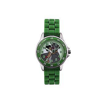 Childrens børn Disney Jungle Book Wrist Watch grøn rem JBK3007