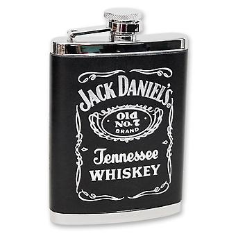 Jack Daniel's Leather 6 Ounce Flask