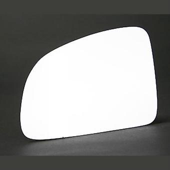 Linker passagier kant stick-on spiegelglas voor Opel MERIVA 2003-2010