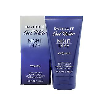 Davidoff Cool Water Night Dive Woman Feuchtigkeitsspende Body Lotion 150ml