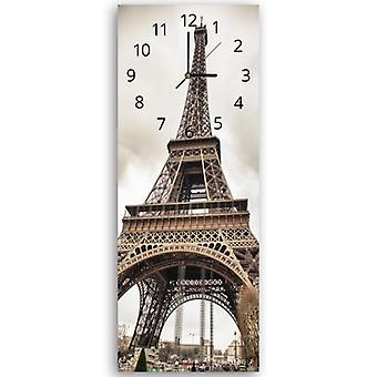 Decorative Clock With Picture, The Eiffel Tower 2