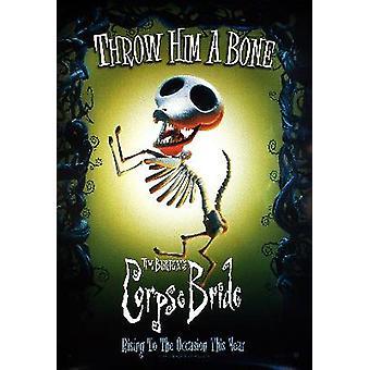 Corpse Bride (hond herdruk) herdruk poster