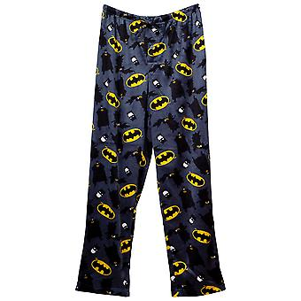 Batman kaste logoer og karakterer fleece Sleep Pants