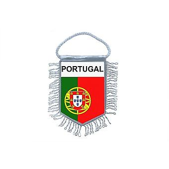 Flag mini flag land bil dekoration Portugal portugisisk