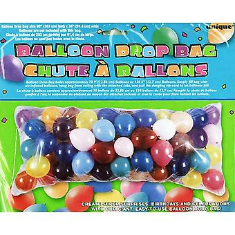Unique Party Clear Plastic Balloon Drop Bag