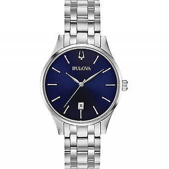 ブローバ 96M149 クラシックステンレススチール腕時計