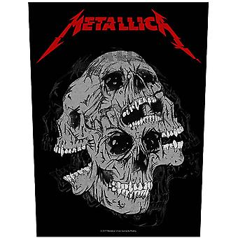 Metallica Back patch Skulls Band Logo new Official sew on 36cm x 29cm