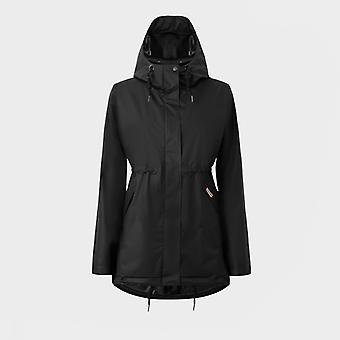 Hunter Original Ladies Hooded Raincoat Black