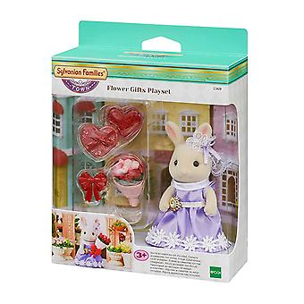 Sylvanian families-by blomst gaver Playset legetøj