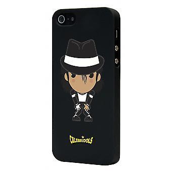 Celebridols Black Mj Hull For Apple IPhone 5
