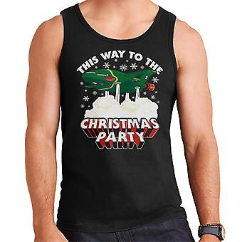 Thunderbirds 2 This Way To The Christmas Party Men's Vest