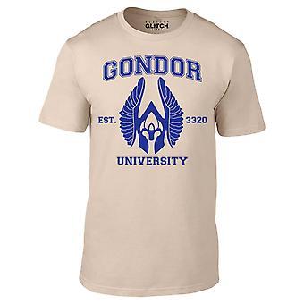 Mannen ' s Gondor Universiteit t-shirt