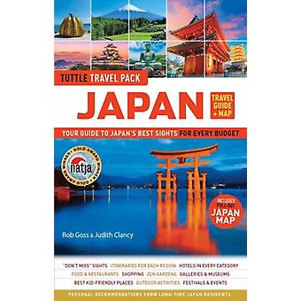 Japan Travel Guide and Map Tuttle Travel Pack by Rob Goss