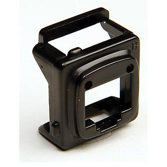 Rj45 Bezel Black 10 Pack