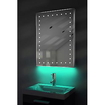 Ambient Shaver LED Bathroom Mirror With Demister Pad & Sensor K167T