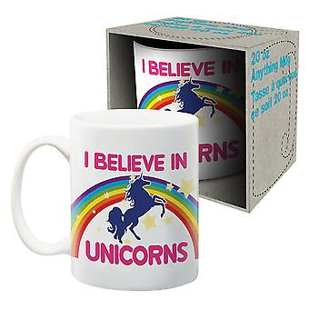 I Believe In Unicorns Jumbo Ceramic Mug