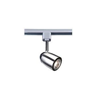 1 luz Spotlight Satin Silver, cromo