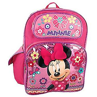 Backpack - Disney - Minnie Mouse - Pink Flowers 16