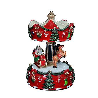 Gisela Graham Carousel Music Box