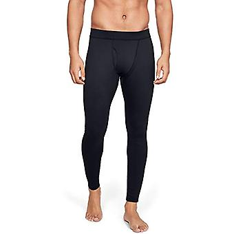 Under Armour Outerwear Mens Packaged Base 3.0 Legging, Black (001)/Pitch Gray...