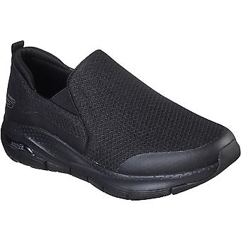 Skechers Mens Arch Fit Banlin Slip On Sports Trainers