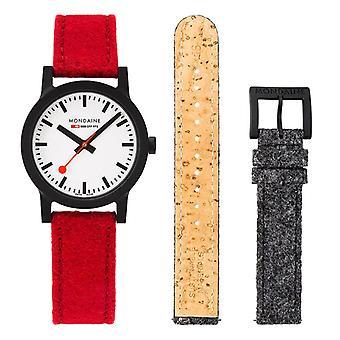 Mondaine Official Swiss Railways Essence Quartz Ladies Watch Set MS1.32110.LC.SET