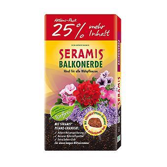 SERAMIS® balcony earth, 50 litres