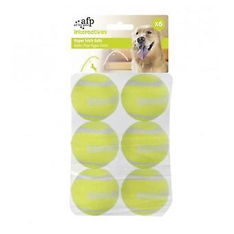 AFP Pelotas Para Hyper Fetch Maxi 6Piezas  Interactive (Dogs , Toys & Sport , Balls)