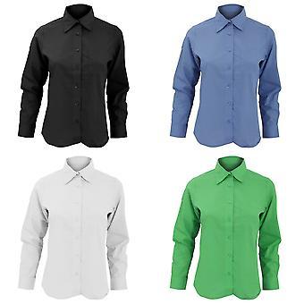 SOLS Womens/Ladies Executive Long Sleeve Poplin Work Shirt