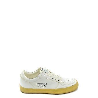 Philippe Modelo Ezbc019044 Men's White Leather Sneakers