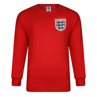 Official England Football 1966 World Cup Final No6 Retro Away Shirt
