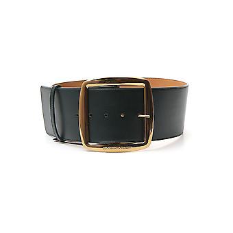 Elisabetta Franchi Ct79s97e2568 Women's Green Leather Belt