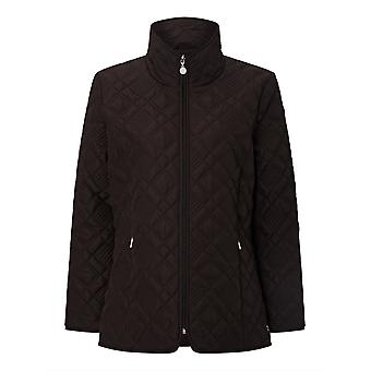 PENNY PLAIN Black Quilted Jacket