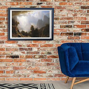 Albert Bierstadt - Landscape c Poster Print Giclee
