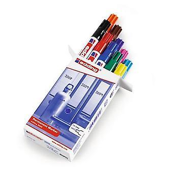 edding-3000 ass.permanent marker 1-10 10PC 1,5-3 mm / 4-3000999