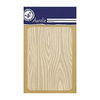 Aurelie Textured Wood Background Embossing Folder