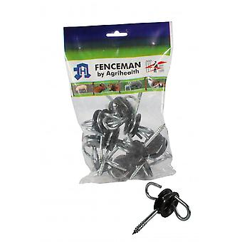 Fenceman Insulator Gate Anchor - Pack Of 10
