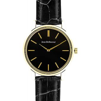 Jean Bellecour REDG5 Watch - Men's Gold Round Watch