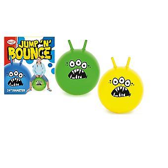 24& Jump N Bounce Space Hopper 2016 S 3 oči - modrá, žltá alebo zelená