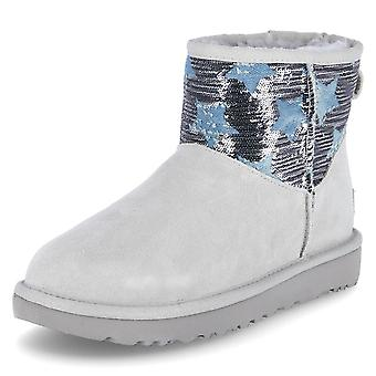 UGG Classic Mini Sequin 1109441GRV universal winter women shoes