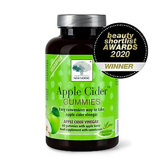New Nordic Apple Cider Gummies 60 (NLF069)