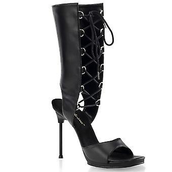 Fabulicious Damen's Schuhe CHIC-65 Blk Pu/Blk Matte