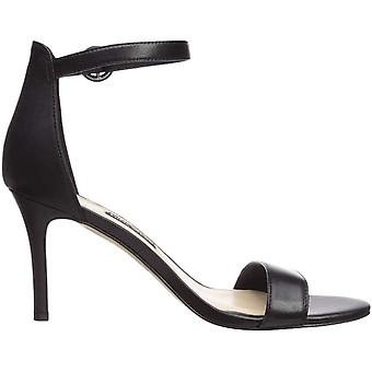 Nine West Women's Shoes Leather Open Toe Casual Ankle Strap Sandals
