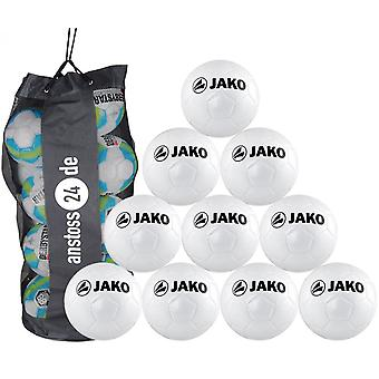 10 x JAKO Training Ball Classic ink. Ballsack