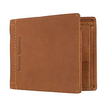 Bruno banani heren portemonnee wallet portemonnee Cognac 6401